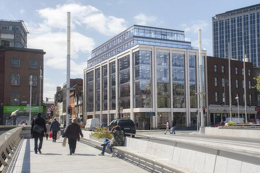 Artist's impression of the New Scotch House on Burgh Quay in Dublin 2