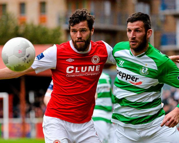 St Patrick's Athletic midfielder James Chambers would love to get on the scoresheet in Riga