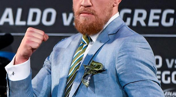 Conor McGregor accused Jose Aldo of being 'scared for his life' after the Brazilian withdrew from his scheduled UFC title defence against the Dubliner