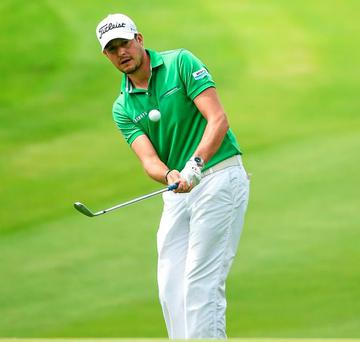 An improved mental approach helped Simon Thornton to victory in the two-day Johnston Mooney & O'Brien PGA Challenge at Carton House