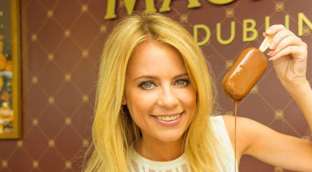 Sky Sports Rachel Wyse at the Make My Magnum Experience in Arnotts