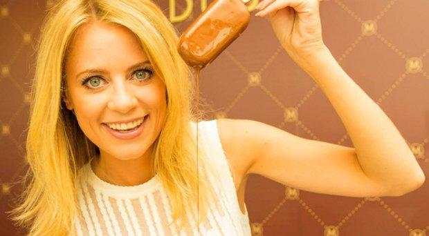 Sky Sports' Rachel Wyse Delivers Magnum Heaven to Arnotts in Dublin