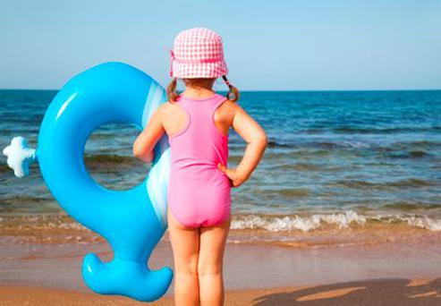Some toys used by children to play along coastal waters are