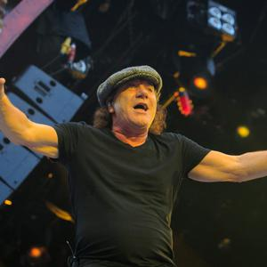AC/DC in performance at The Aviva Stadium in Lansdowne Road, Dublin. Photo: Gareth Chaney Collins