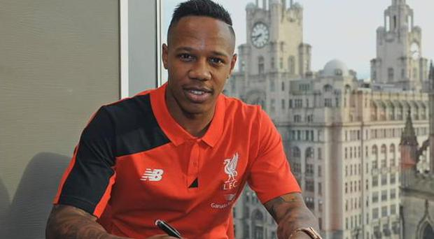 Nathaniel Clyne in his new colours