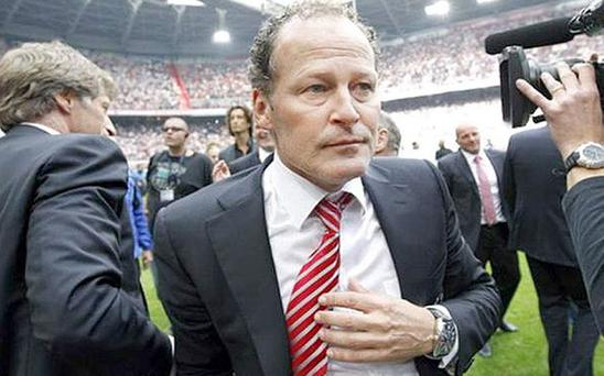 National treasure: Danny Blind turned down United to coach Holland Photo: REUTERS