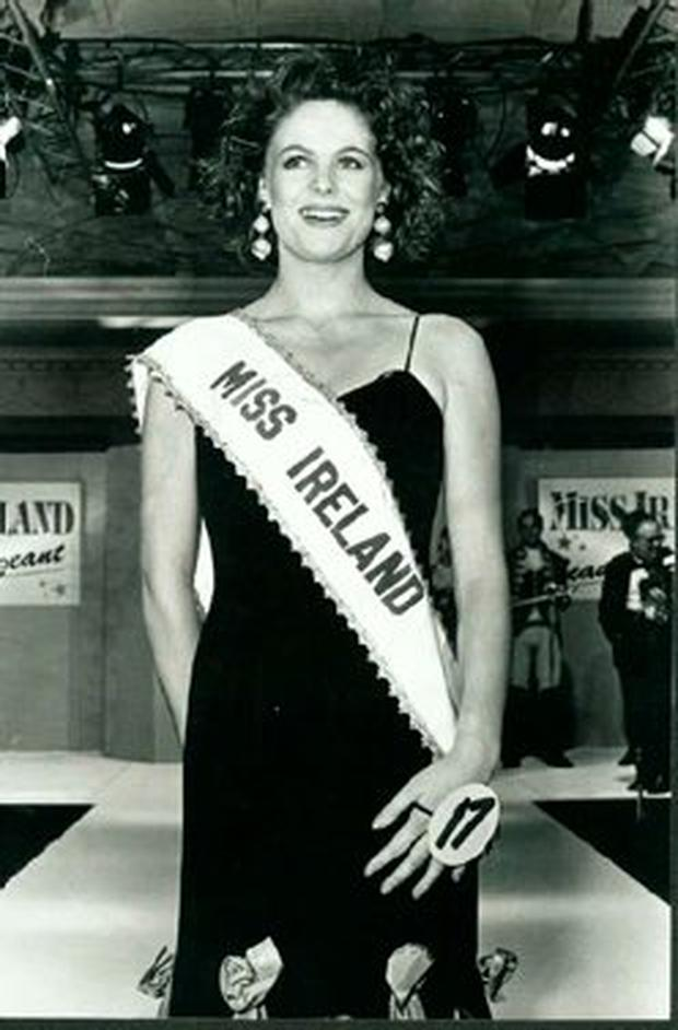 Amanda Brunker was just 17 when she was crowned Miss Ireland in 1991
