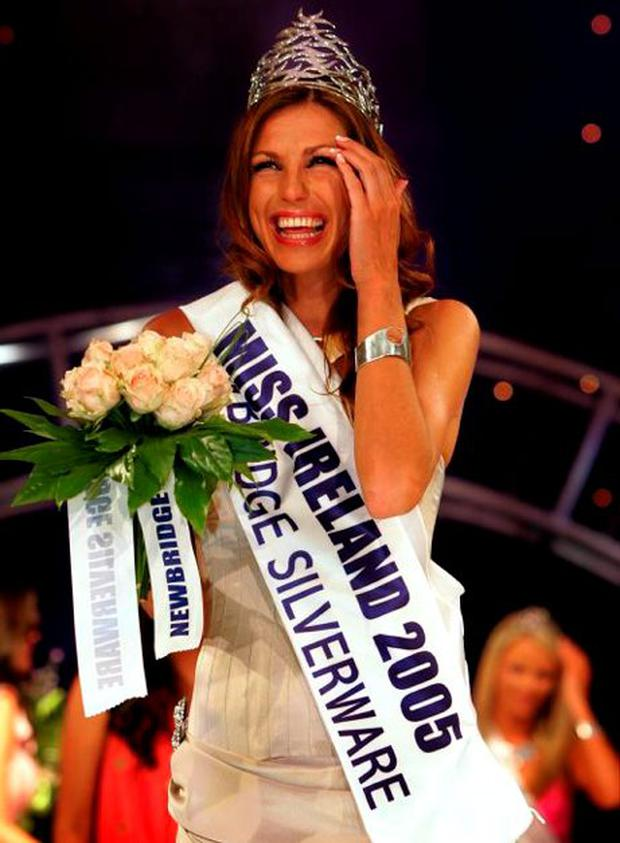 Aoife Cogan was crowned Miss Ireland in 2005