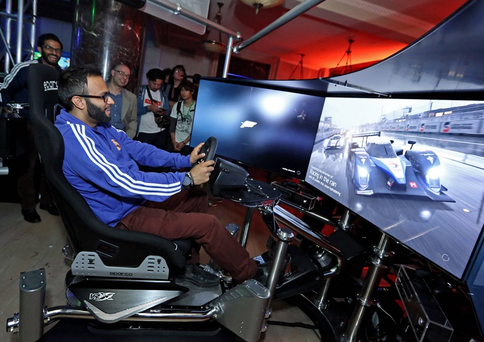 A gamer gets to grips with Forza 6 at E3 2015