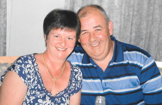 Martina Hayes and her husband Larry Hayes, who were both killed in the Terror attack in Tunisia