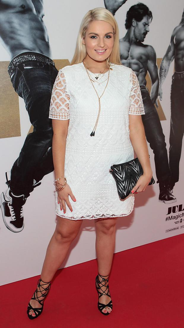 Model Louise O Reilly at The Irish Premiere screening of Magic Mike XXL at The Savoy Cinema Dublin Picture Brian mcEvoy No repro fee for one use
