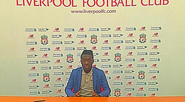 Bobby Adekanye will join the Liverpool Academy