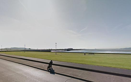 Shoreline at Clontarf, Dublin (Photo: Google Maps)