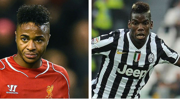 Raheem Sterling and Paul Pogba are Manchester City targets