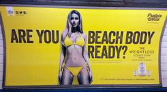 A furious row ignited in the UK and US about an ad campaign for Protein World's slimming products, entitled 'Are you beach body ready?'