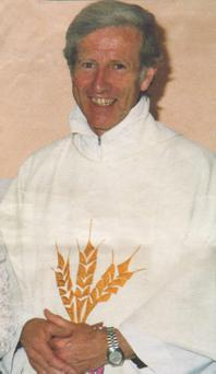 Fr Niall Molloy shortly before his death