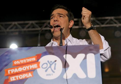 Mr Tsipras seized on a report by the IMF – which argued that Greece's massive public debt could not be sustained without significant writedowns – as vindication of his rejection of the lenders' terms