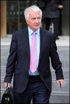 Former Anglo Irish Bank chairman Sean FitzPatrick