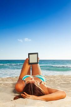 You're on holiday - just enjoy your ebook