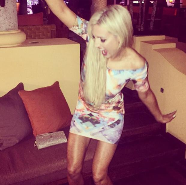 Rosanna Davison is posting holiday snaps from her latest trip to the Seychelles (Photo: Instagram/RosannaDavison)