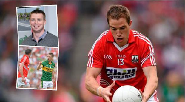 Cork's Colm O'Neill and (inset top) Tomas O Se and (below) Marc