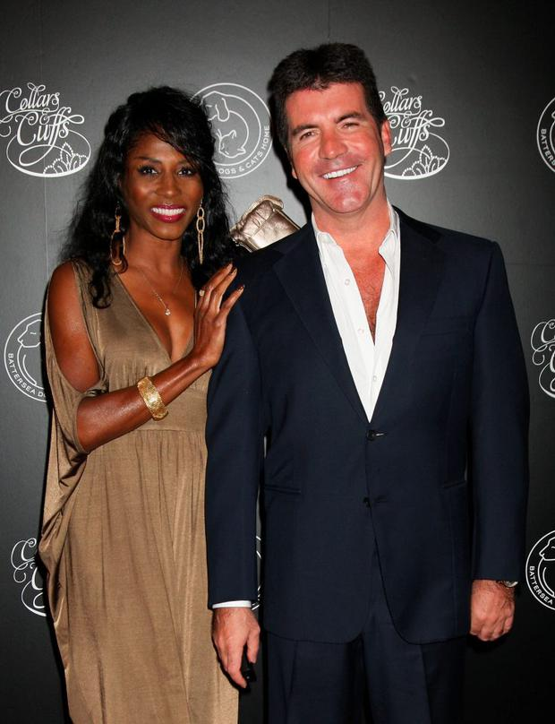 Simon Cowell and Sinitta arrive for the Collars and Cuffs Ball at the Royal Opera House
