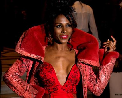 Sinitta attends the press night of