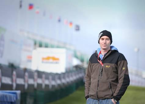 Dr John Hinds on the North West 200 circuit