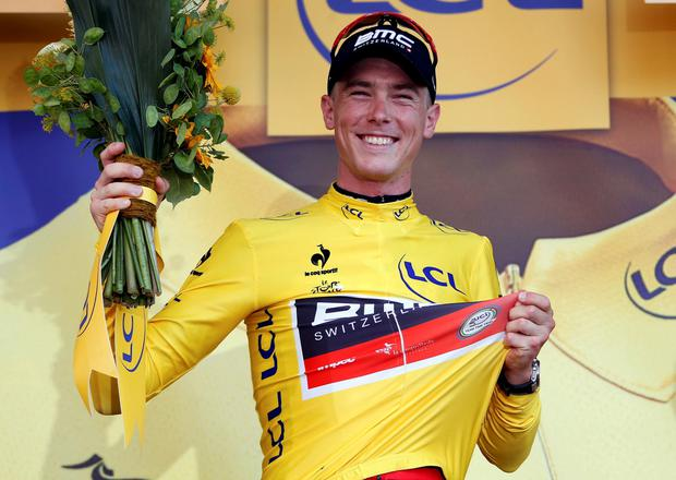 Dennis takes yellow jersey on opening day of Tour de France