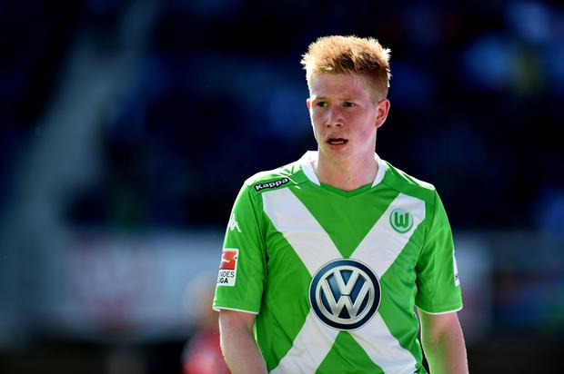 Manchester City are poised to table an offer approaching £50m for Wolfsburg's Kevin De Bruyne