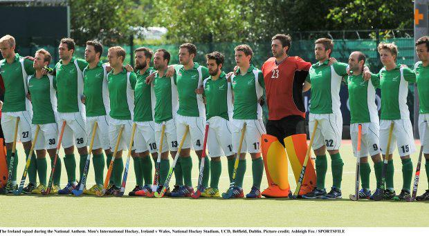 The Irish mans hockey team