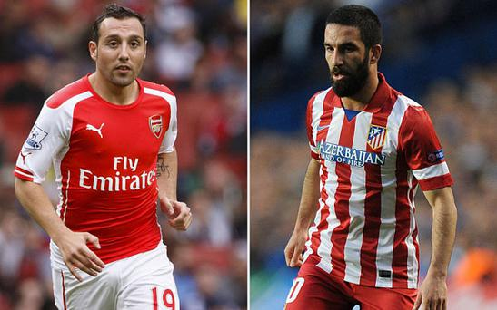 : Arsenal are ready to use Santi Cazorla in any bid for Arda Turan