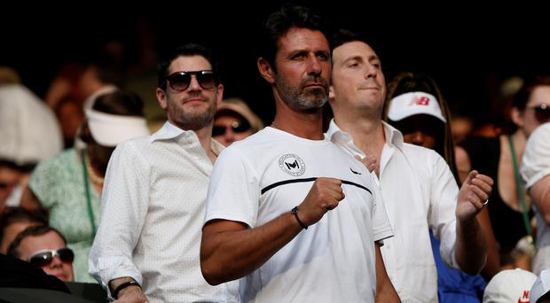 French coach Patrick Mouratoglou, coach of US player Serena Williams, has been a huge influence on the world number one (Getty Images)