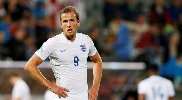 Harry Kane on England duty
