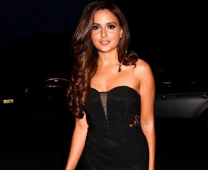 Nadia Forde before Saturday Night with Miriam