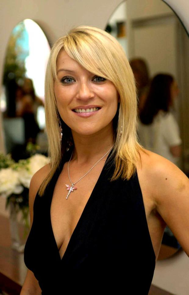 Actress Zoe Lucker, who has confessed that crippling anxiety leaves her feeling