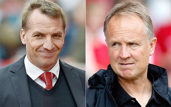 Brendan Rodgers and Sean O'Driscoll
