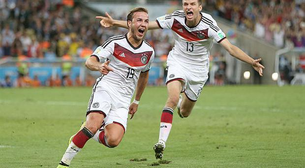 Mario Gotze is a wanted man