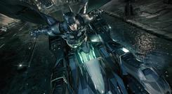 Batman: Arkham Knight – launching at speed from the Batmobile never gets old