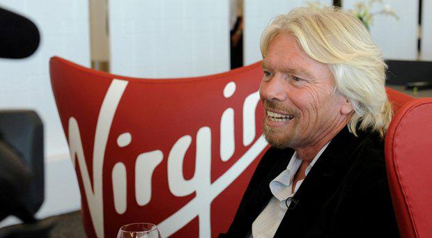 Richard Branson turns up briefly in the fly-on-the-wall series Virgin Atlantic: Up in the Air