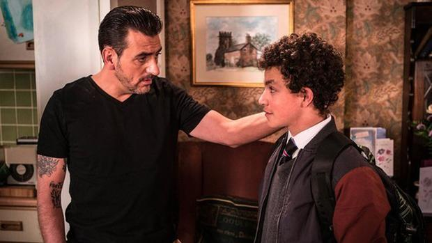 Peter Barlow makes a return to the familiy shortly after Deidre's funeral Pic: Coronation Street/Twitter