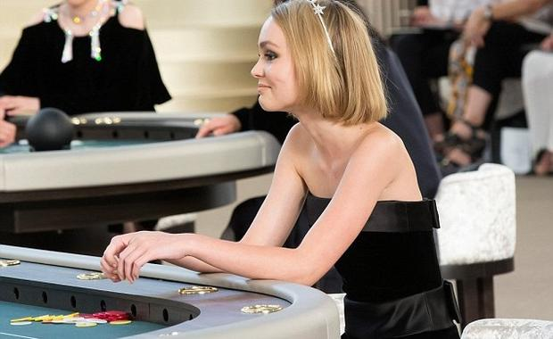 Lily Rose Depp at Chanel for Paris Couture Week