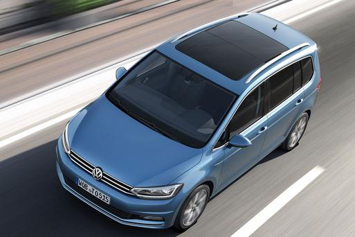 The new Volkswagon Touran
