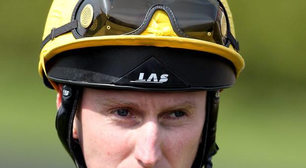 Jockeys Martin Dwyer and Connor Beasley were involved in a dramatic incident that resulted in Beasley being airlifted to hospital on the all-weather at Wolverhampton yesterday