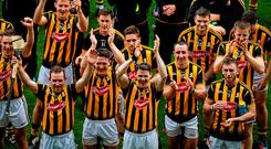 Kilkenny hurlers celebrate their 70th Leinster senior title