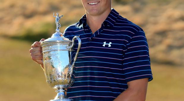 Jordan Spieth has been using a simulator to prepare for St Andrews