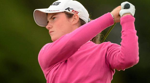 Leona Maguire helps keep the Irish hope alive to qualify for the quarter-finals of the European Ladies Team Championship at Helsingar in Denmark