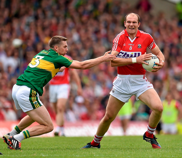 The performances of Cork footballer Alan O'Connor, right, and hurler Brian Murphy haven't been affected by their long absences from the gruelling requirements of being part of a senior inter-county squad