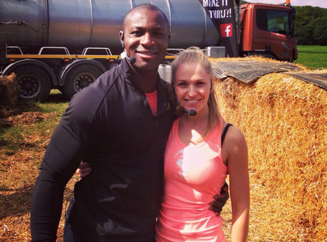 Francis Usanga and Emma Murphy in an older picture on Emma's Facebook account Pic: Facebook