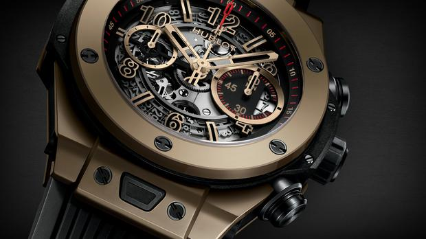 Hublot Big Bang Unico Full Magic Gold which is like the model sold by CAB
